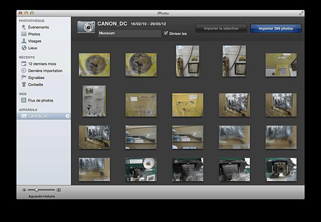 cr er un album avec iphoto frenchmac. Black Bedroom Furniture Sets. Home Design Ideas