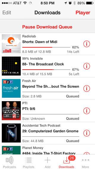 Les meilleures applications de podcast pour iphone - Application pour mesurer les decibels ...