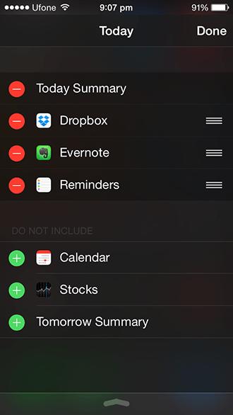 Widgets iOS 8-2