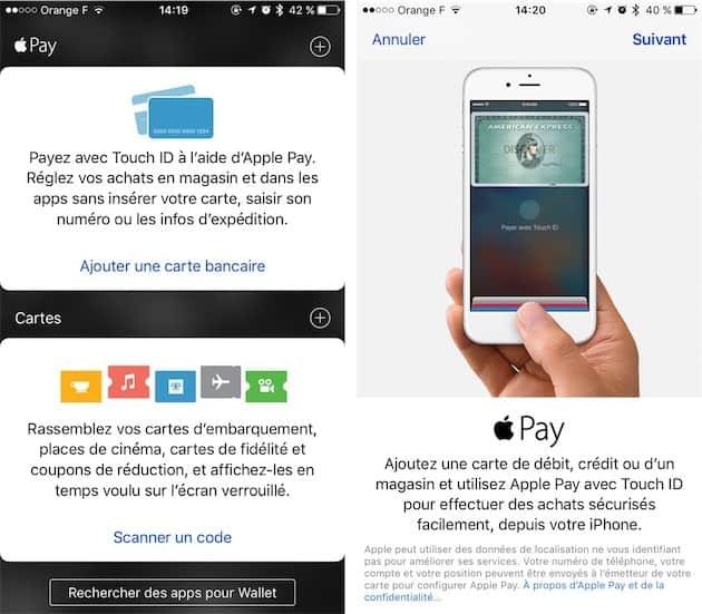 Payer Sans Contact Avec Iphone