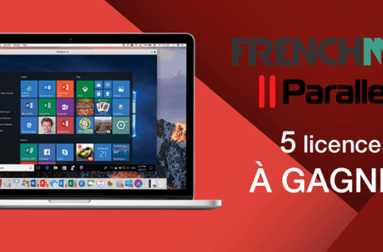 bannière parallels desktop mac Frenchmac