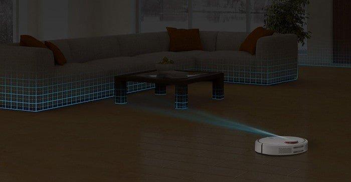 Test Xiaomi Mi Robot Vacuum - cartographie
