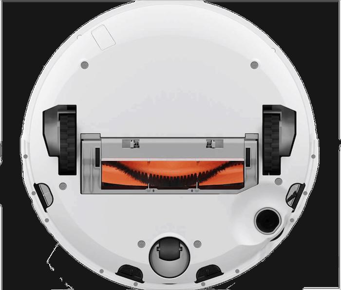 Test Xiaomi Mi Robot Vacuum - dessous