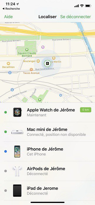 Partie 2 : Comment suivre l'iPhone de votre ami sans qu'il le sache