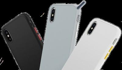 coque rinoshield iphone xs blanche